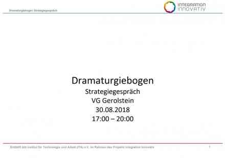 Dramaturgiebogen Strategiegespräch